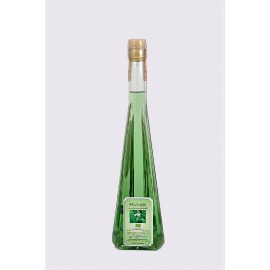 Bio Jablkovica Prim Palazzo (Medveďák) 0,35l  52% Bio destilát s medvedím cesnakom