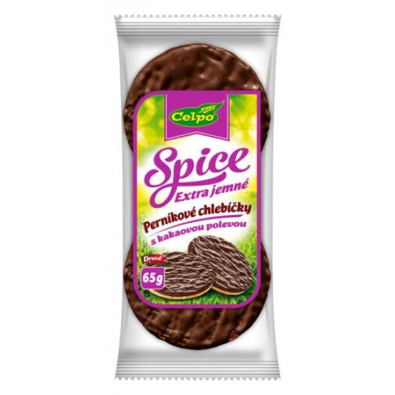 Spice Extra jemné perníkové chlebíčky, ryžové s kakaovou polevou 65g