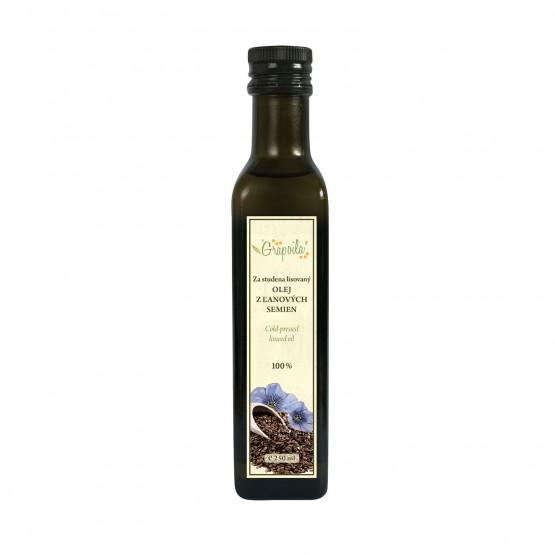 Olej z ľanových semien 250ml