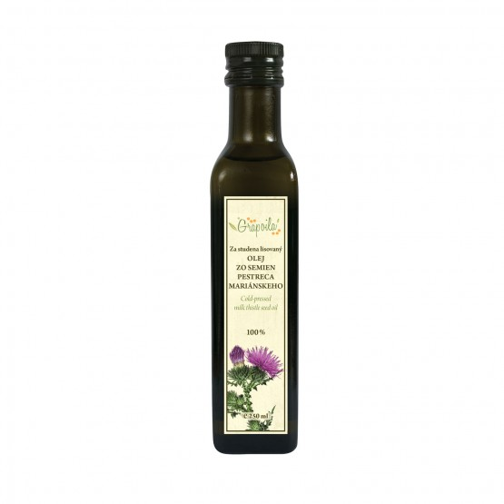 Olej zo semienok pestreca mariánskeho 250ml