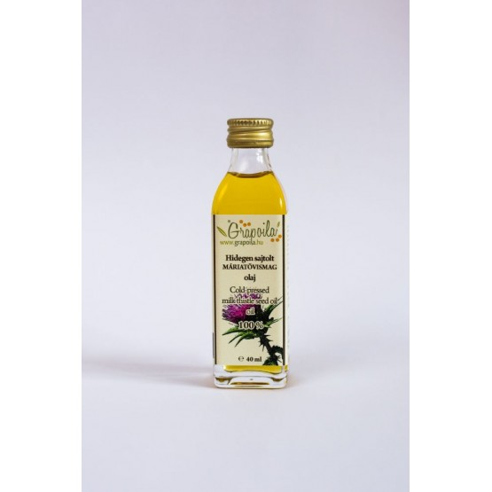 Olej zo semienok pestreca mariánskeho 40ml