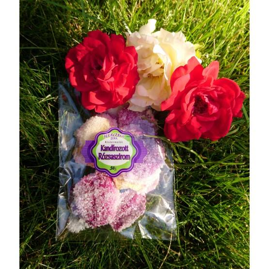 Kandizované ružové lupienky 30g