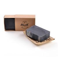 Čierne zlato - Mydlo v papierovej krabičke
