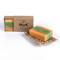 Pomarančová sviežosť - Mydlo v papierovej krabičke