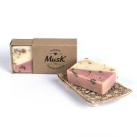 Ružová alej - Mydlo v papierovej krabičke