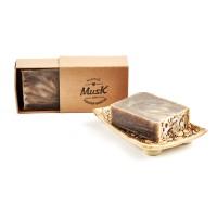 Zrnko kávy - Mydlo v papierovej krabičke