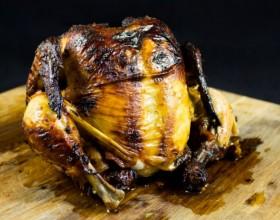 Horčicové pečené kura